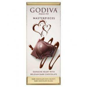 Go­di­va Mas­ter­pie­ces ta­blet gana­che heart Chocolate Truffles Food & Beverages Grocery & Gourmet Food
