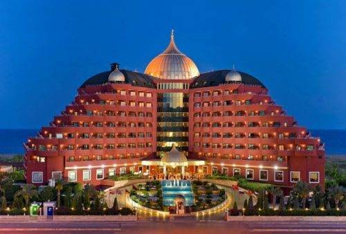 Resort Delphin Palace Hotel booking Turkey
