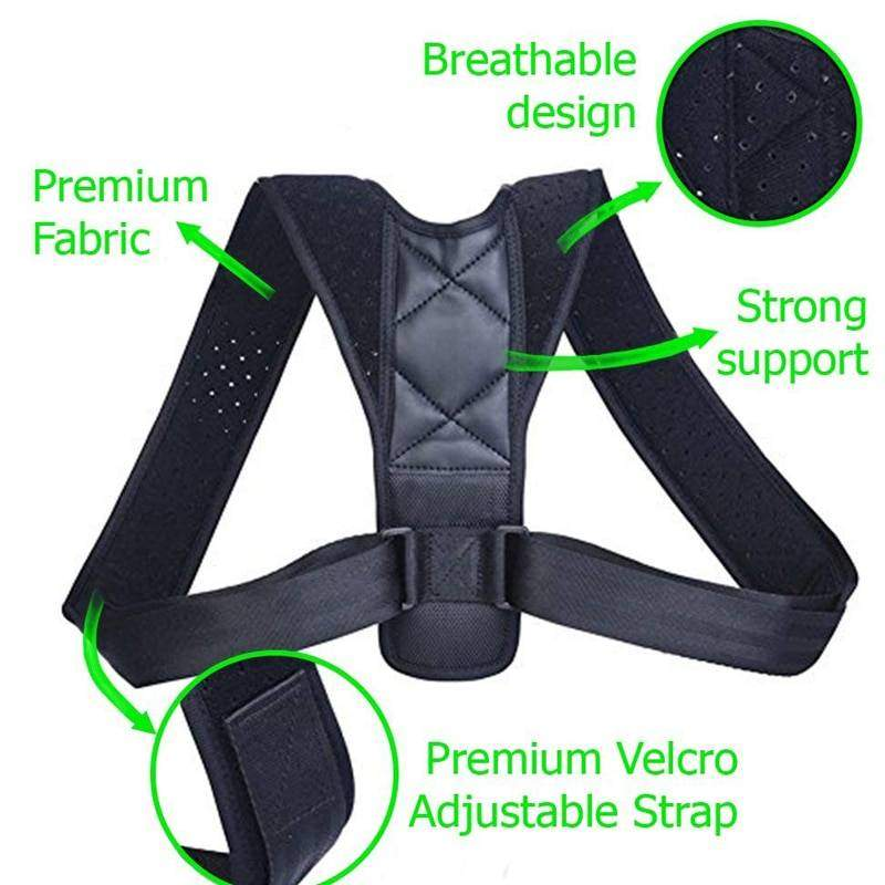 Adjustable Posture Correcting Support Braces & Supports Health & Beauty Health Care