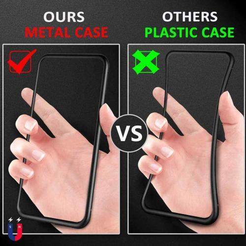 Magnetic Phone Case for iPhone and Samsung Galaxy Cellphones & Accessories Cases & Covers