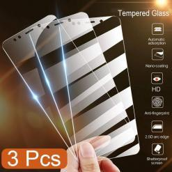 Tempered Glass Screen Protector For Xiaomi 3 Pcs Set Cellphones & Accessories