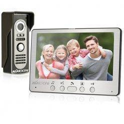 "Waterproof 7"" Wired Video Door Intercom Home Electronics Home Security Consumer Electronics"